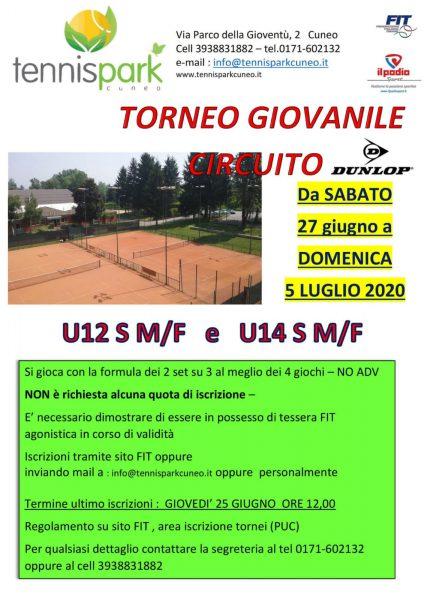 TORNEO GIOVANILE CIRCUITO DUNLOP