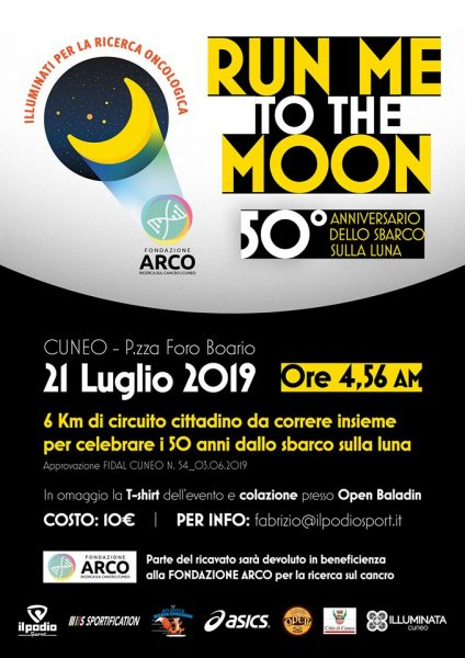 Run to the moon – Cuneo – 21 luglio 2019