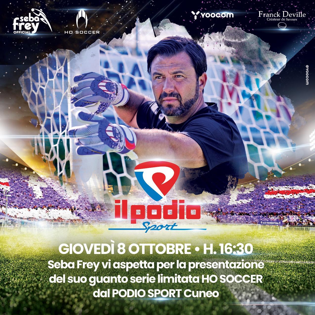 Sebastian Frey a Cuneo – Giovedì 8 ottobre
