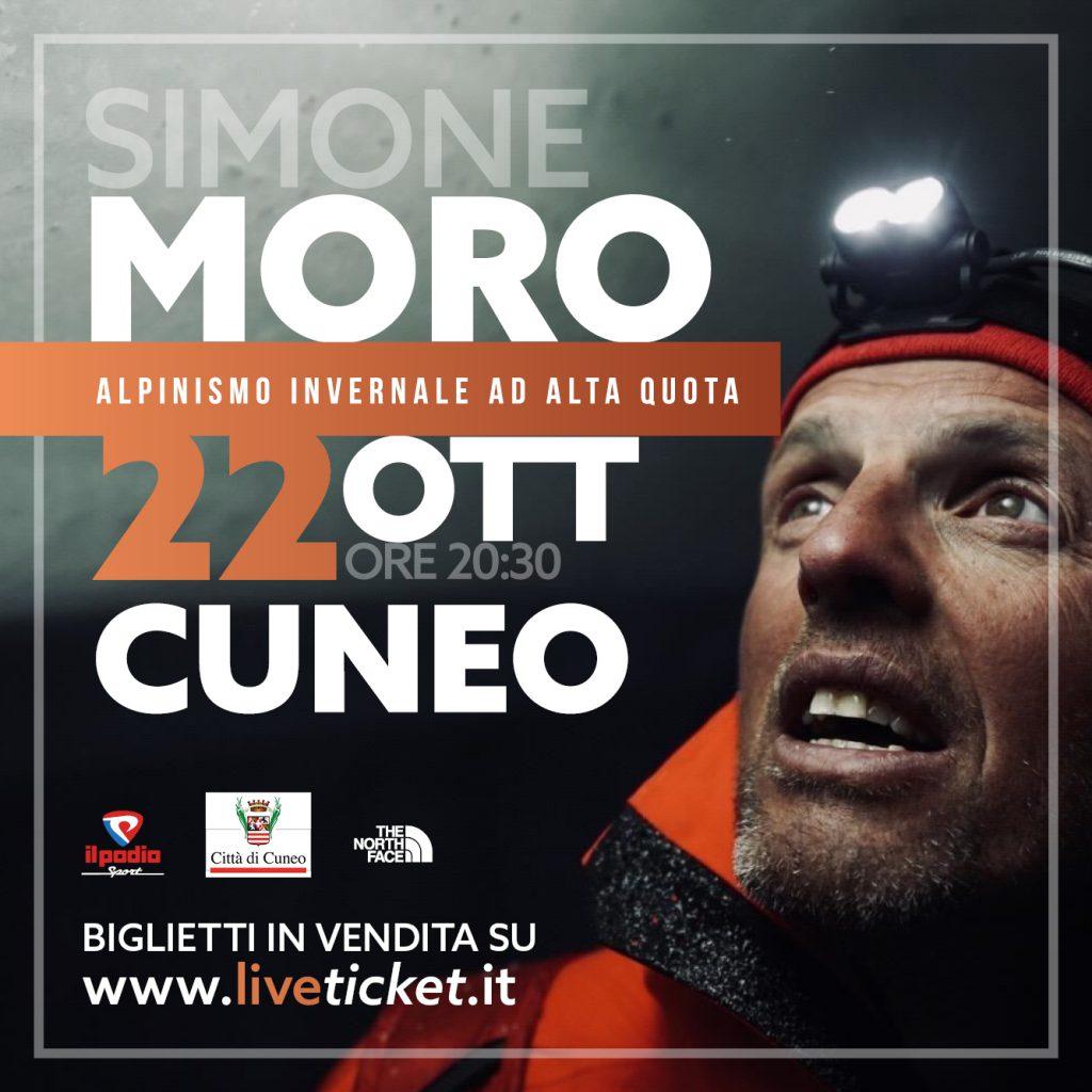 Simone Moro – Cuneo, 22 ottobre 2021