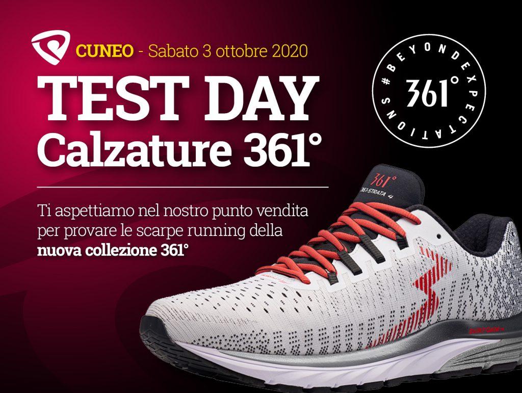 Sabato 3 ottobre – 361° TEST DAY